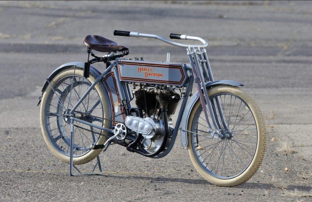 1911 - Harley-Davidson modelo 7D - Derecha