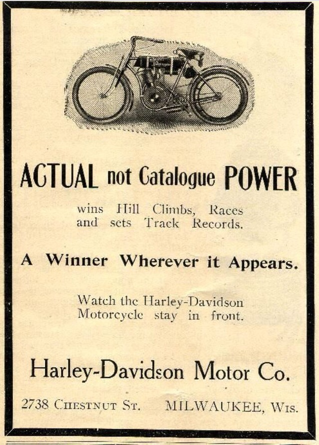 harley-davidson Actual Power