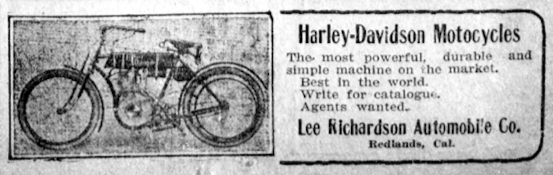 1908 Harley-Davidson Lee Richardson