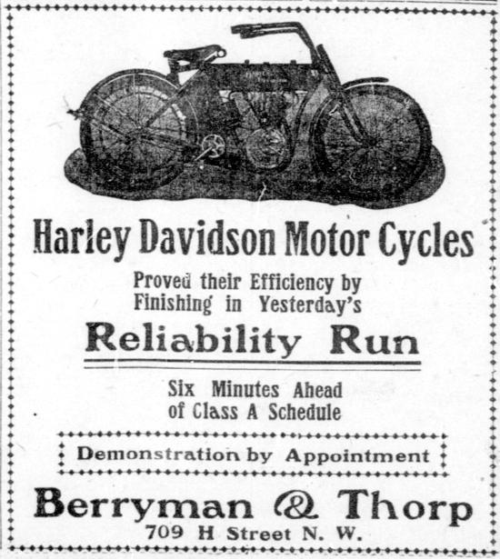 1909 - Harley-Davidson Reliability Run