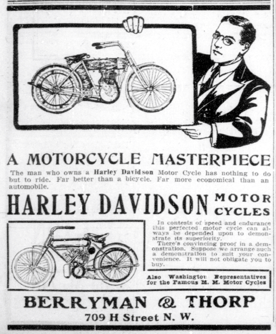 1909 - Harley-Davidson A motorcycle masterpiece