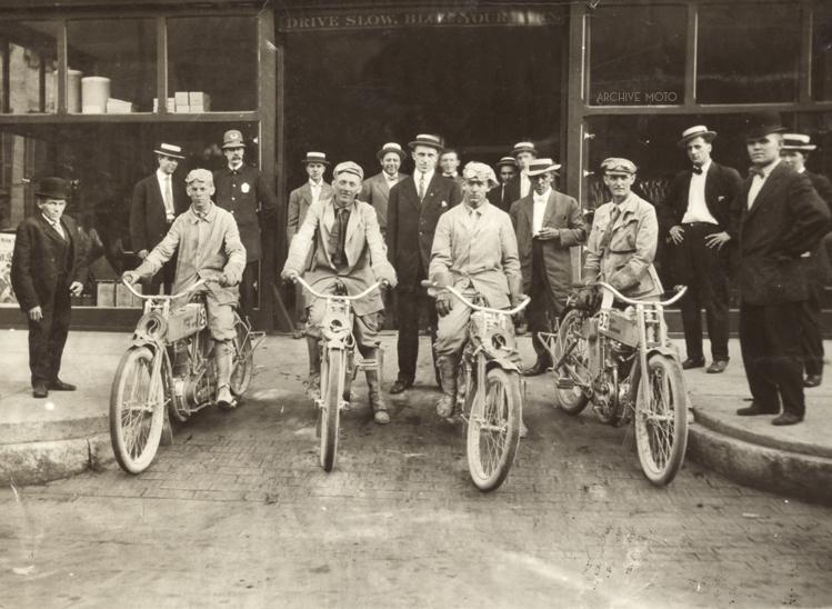 1909 - Carrera resistencia a Indianapolis