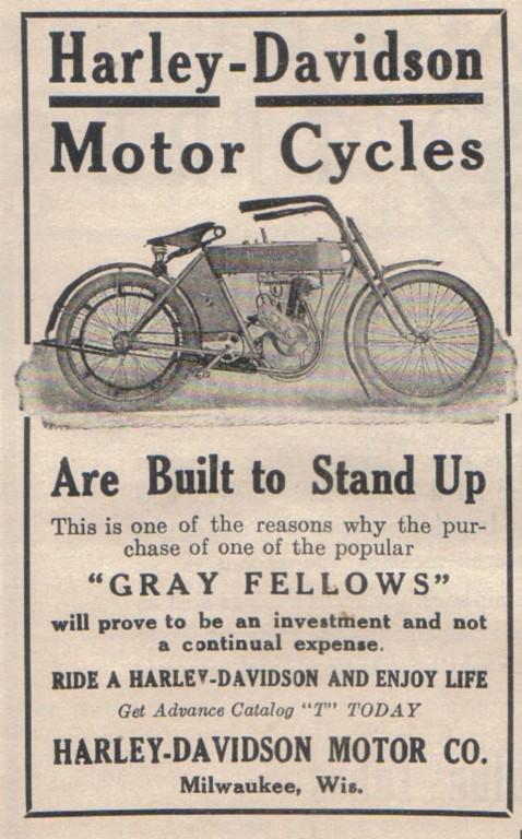 1910 - Harley-Davidson