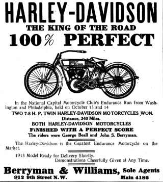 1912 - Harley-Davidson The King of the Road