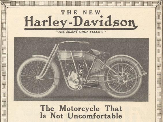 1912 - Harley-Davidson - The New