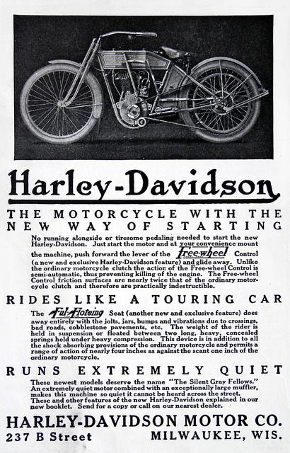 1913 - Harley-Davidson - New starting