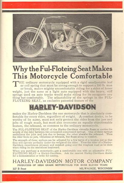 1913 - Harley-Davidson - Ful floeting