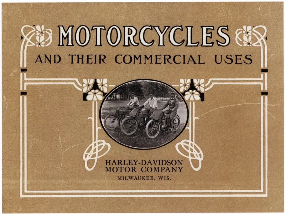 1911 - Harley-Davidson and their commercial uses