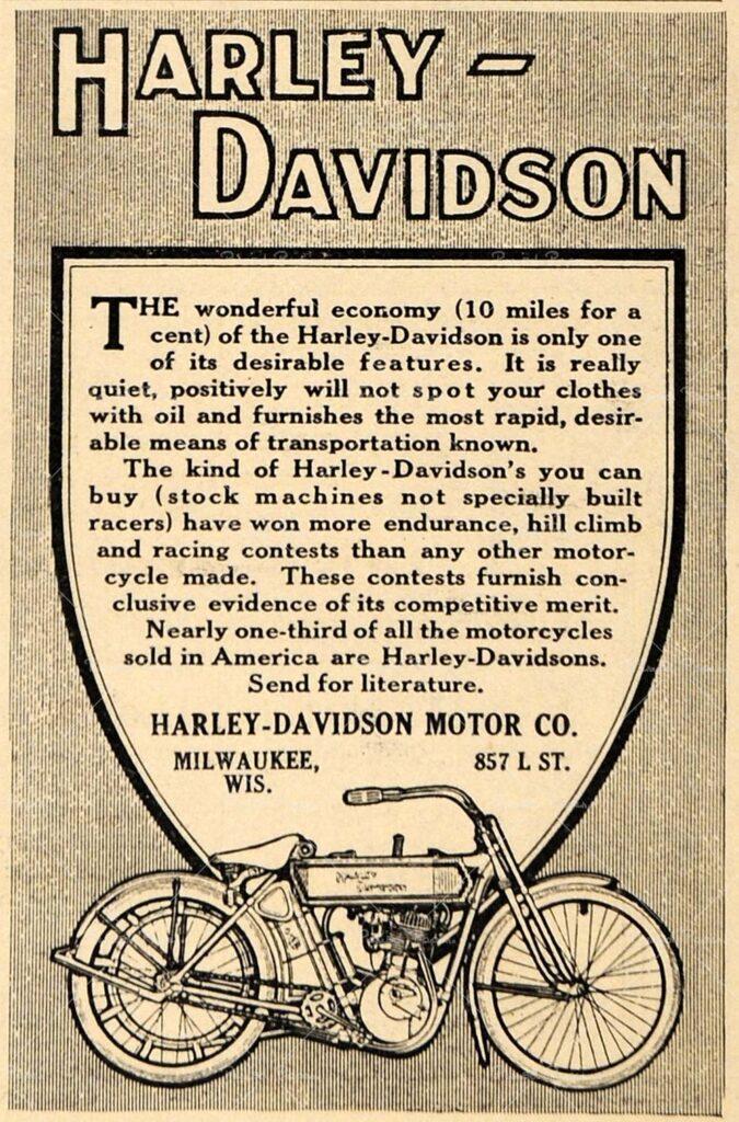 1911 - Harley-Davidson the wonderful