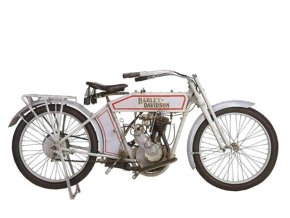 1914 - Harley-Davidson modelo 10B monocilíndrico