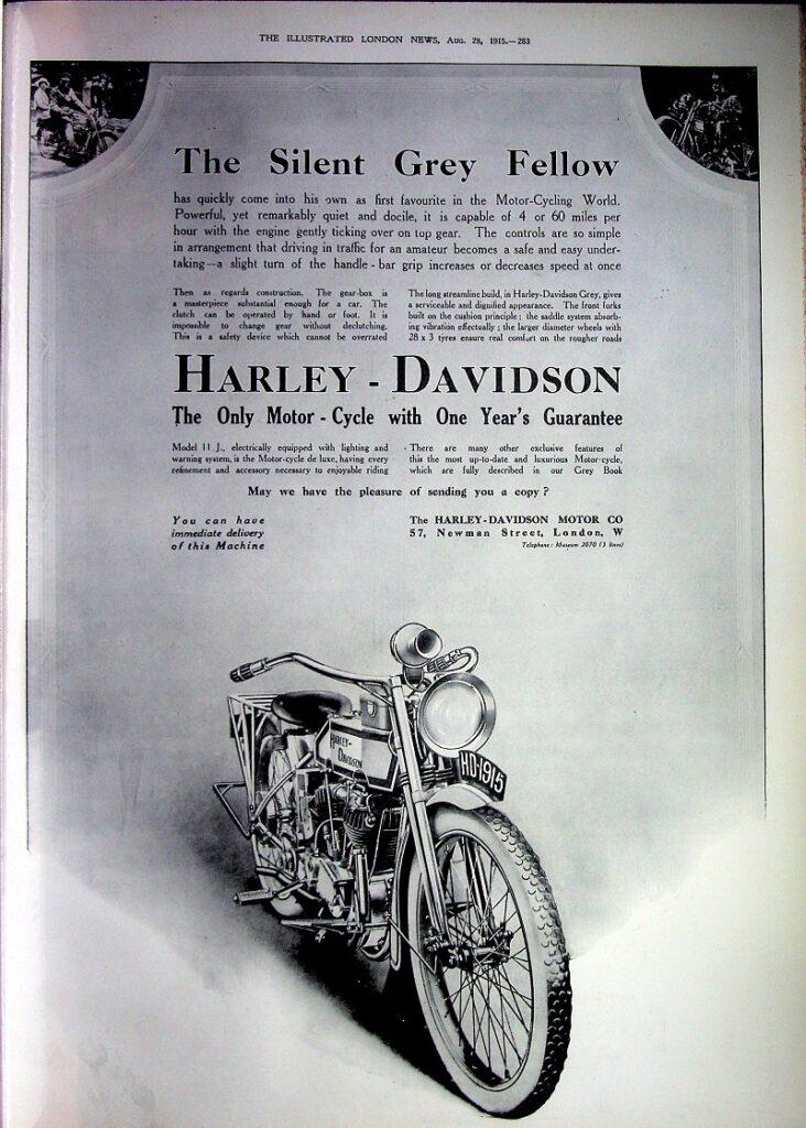 1915 - Harley-Davidson - The Silent Grey Fellow