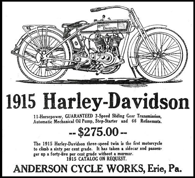 1915 - Harley-Davidson - Anderson Cycle
