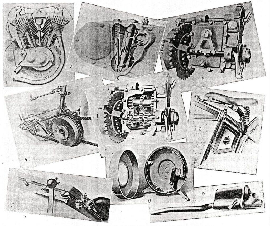 Otras características de 1915