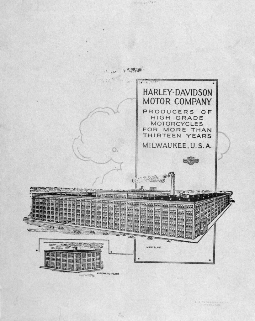 1915 - Folleto Harley-Davidson