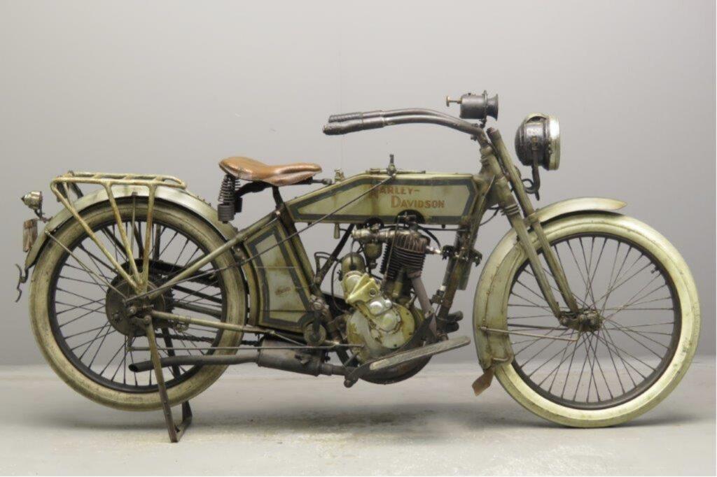 1915 - Harley-Davidson modelo 11 C