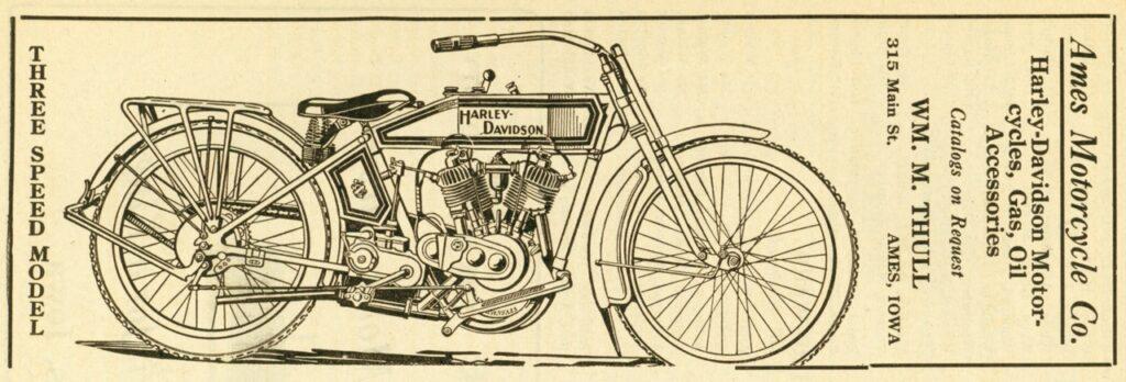 1915 - Harley-Davidson - Three Speed Model
