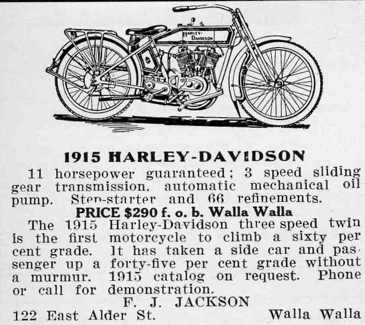 1915 - Harley-Davidson