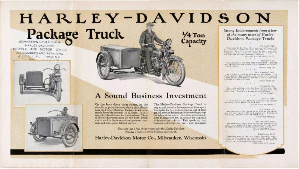 1916 - Harley-Davidson folleto