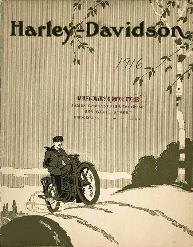 1916 - Harley-Davidson Burroughs Dealer