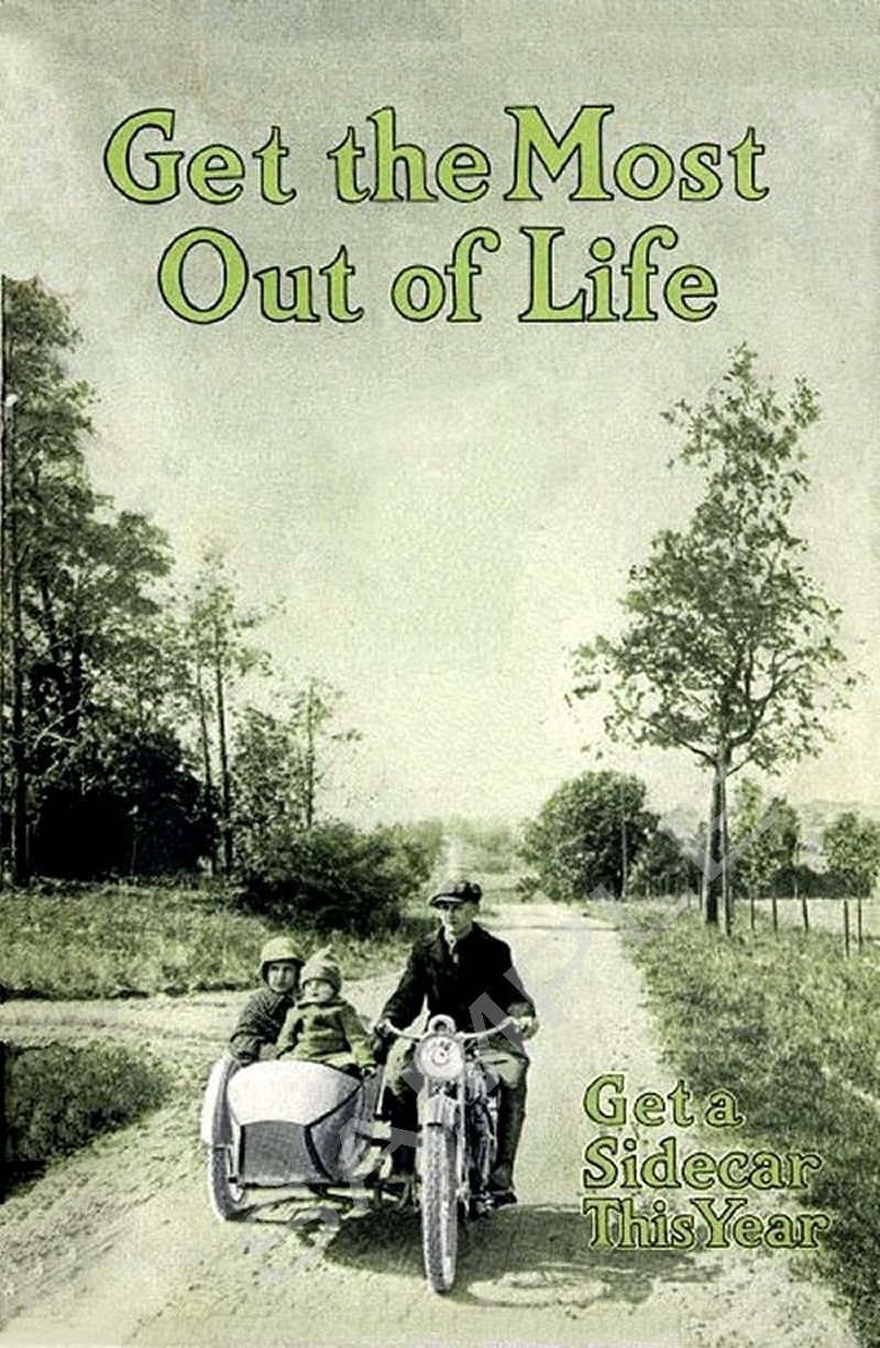1916 - Harley-Davidson Get The Most Out of Life
