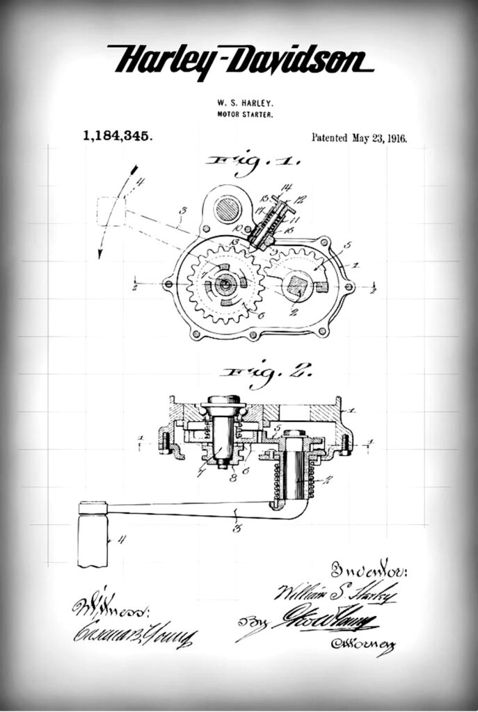 1916 - Patente del sistema de arranque