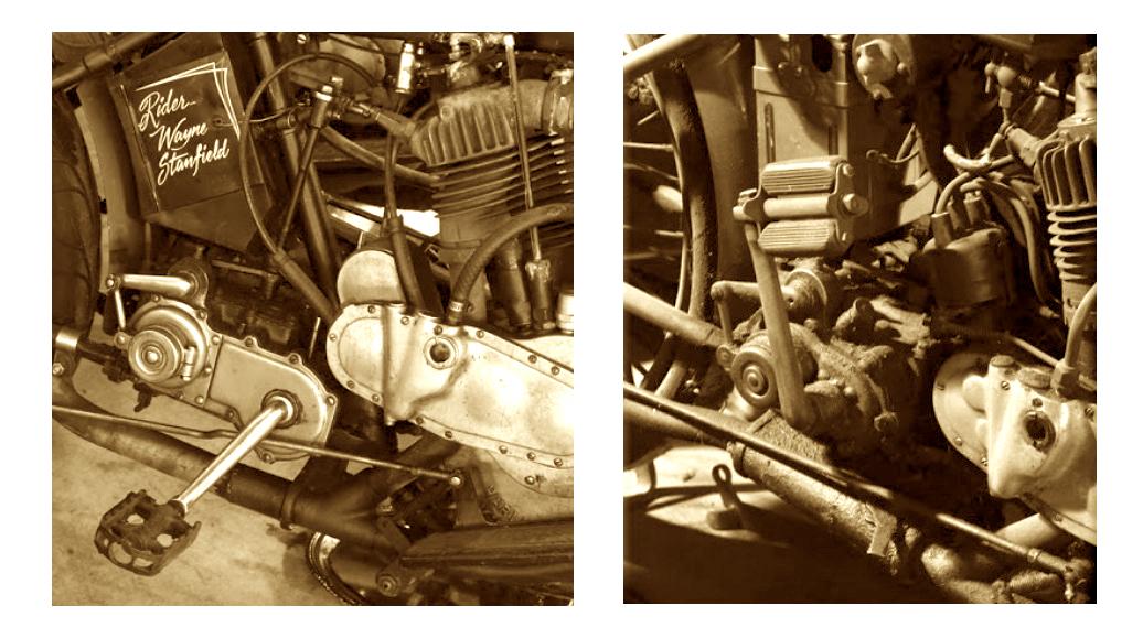 1916- pedal de arranque