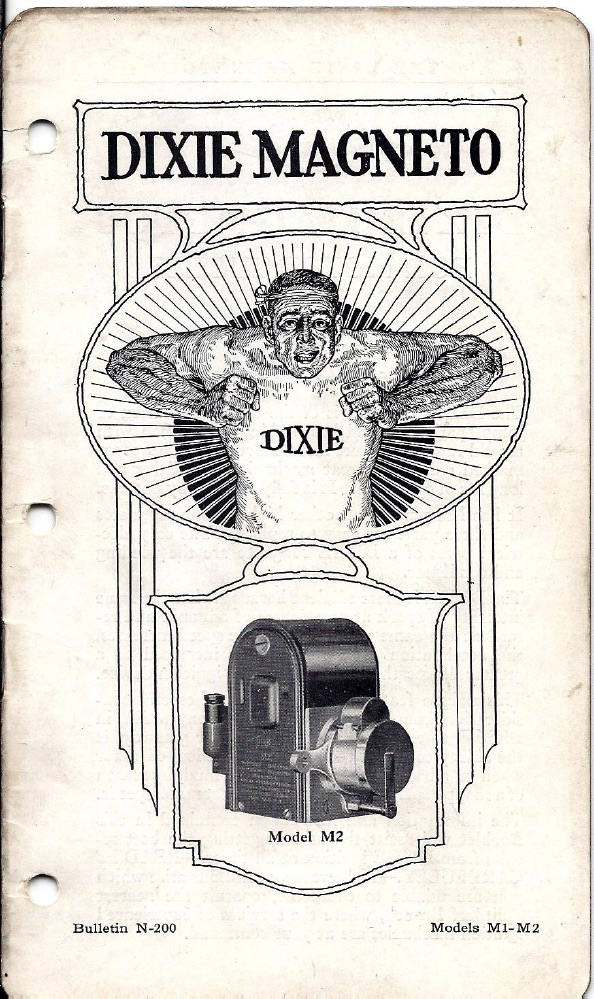 1917 - Dixie Magneto para Harley-Davidson