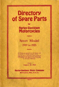 Spare Parts of Sport Twin