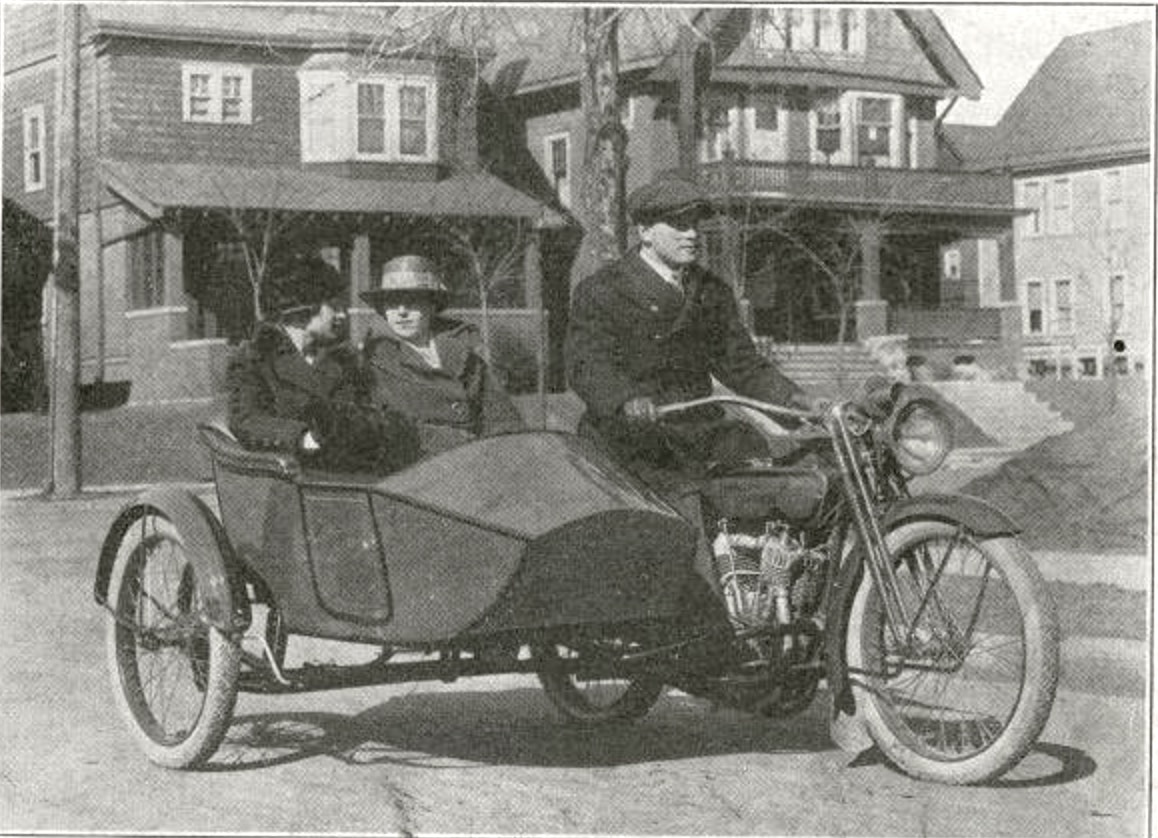 1918 - Harley-Davidson - 18L sidecar