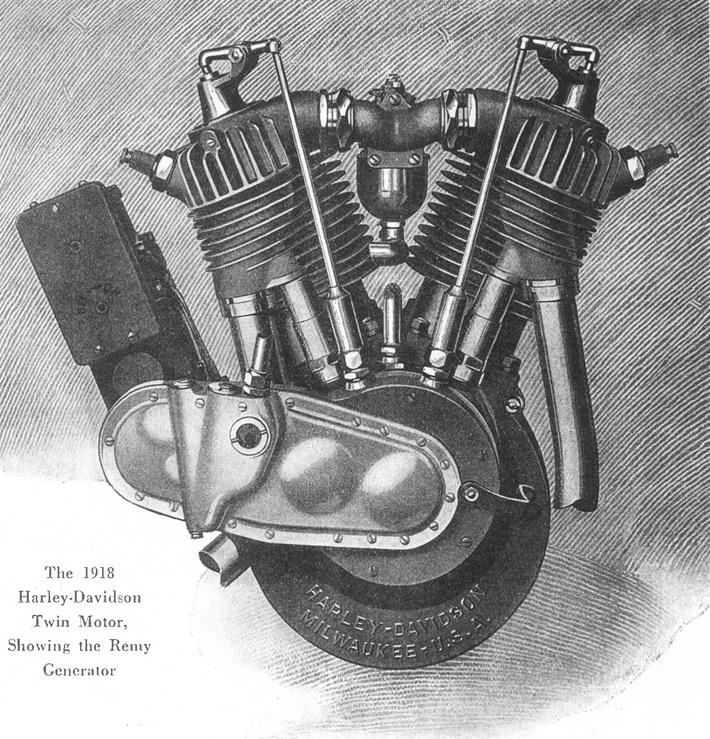1918 - Motor y generador Remy