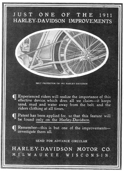 1911 - Just one of the Harley-Davidson