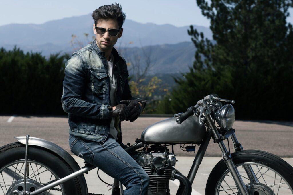 chaqueta para montar en moto