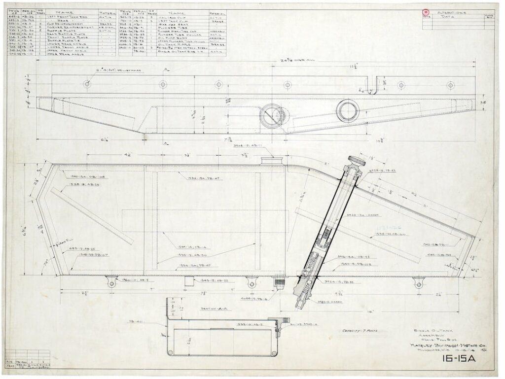Patente de 1919 - Harley-Davidson