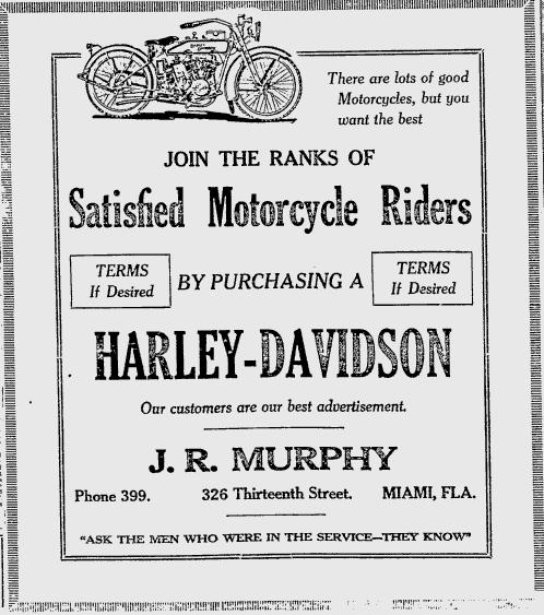 1919 - Harley-Davidson - Periódico