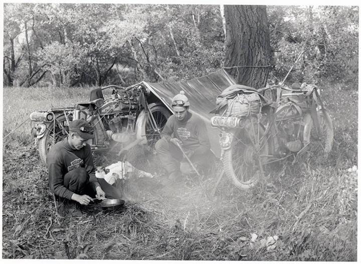 1919 - harley-davidson en el campo
