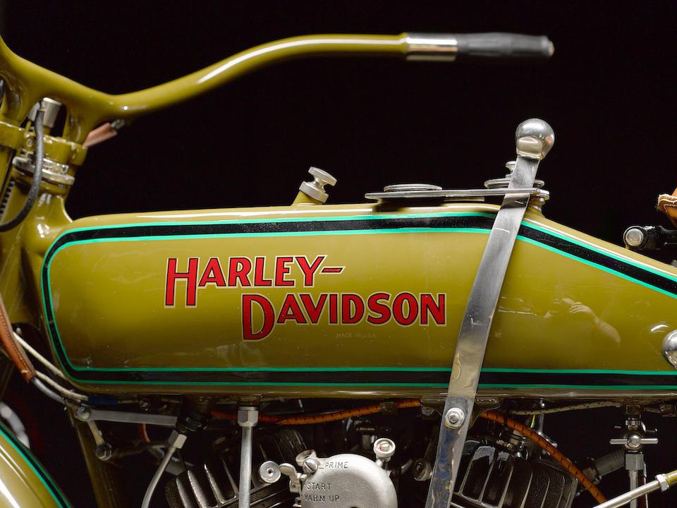 Harley-Davidson modelo 20J de 1920