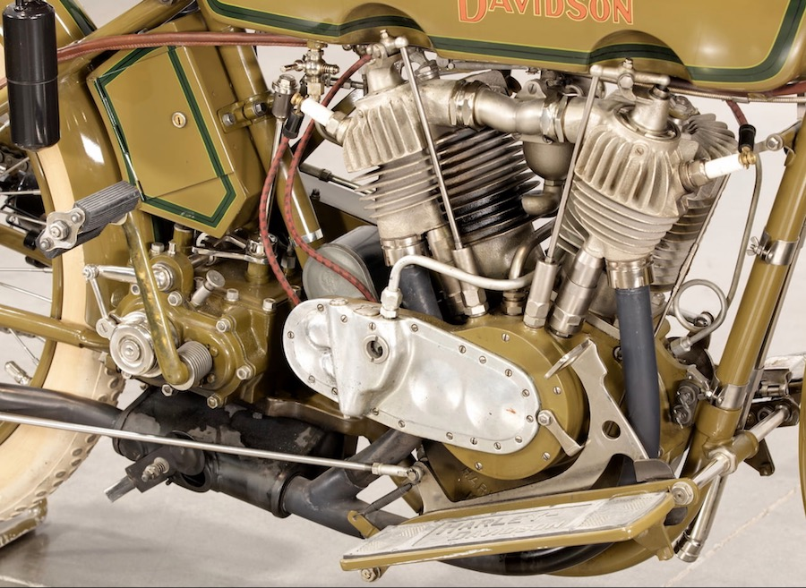 1920 - Harley-Davidson motor derecha