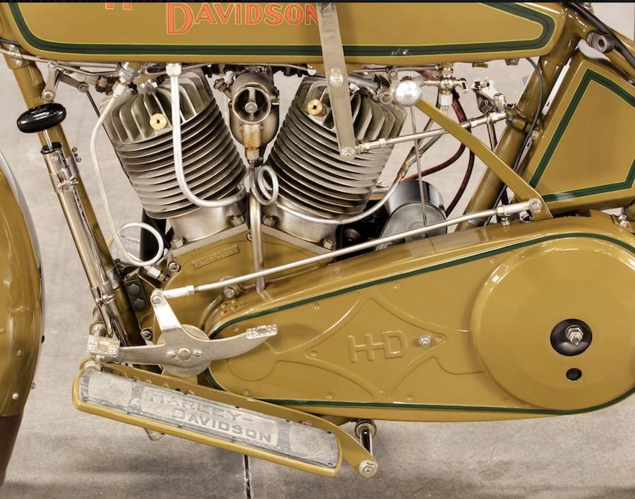 1920 - Harley-Davidson motor izquierda
