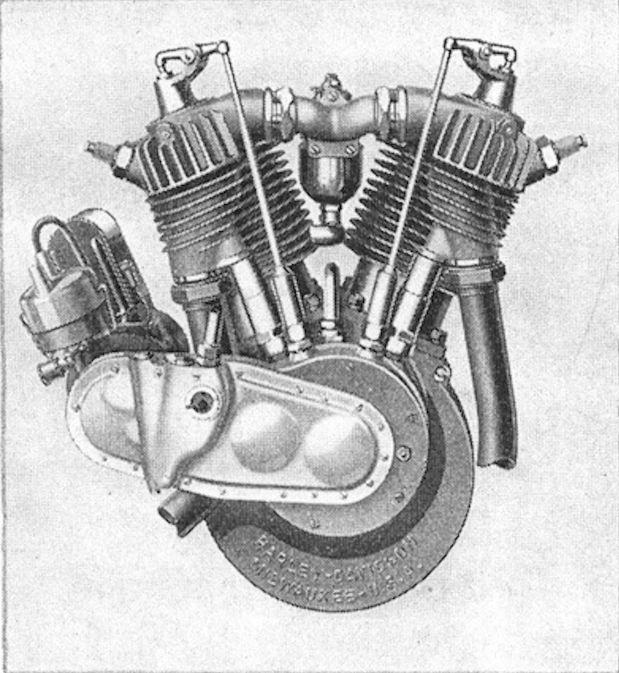 1920 - Motor Harley-Davidson