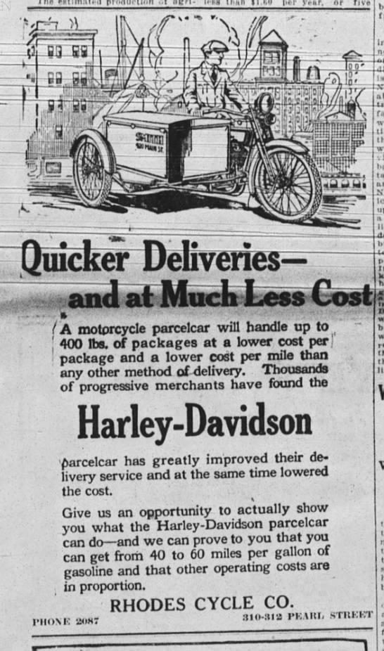 1920 - Harley-Davidson