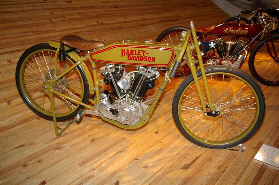 Harley-Davidson modelo racing 1.000 cc de 1920