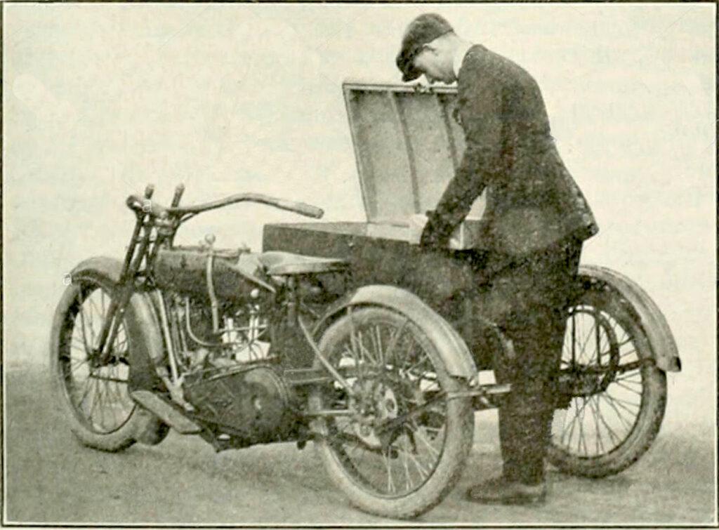 Harley-Davidson modelo 21-CD de 1921