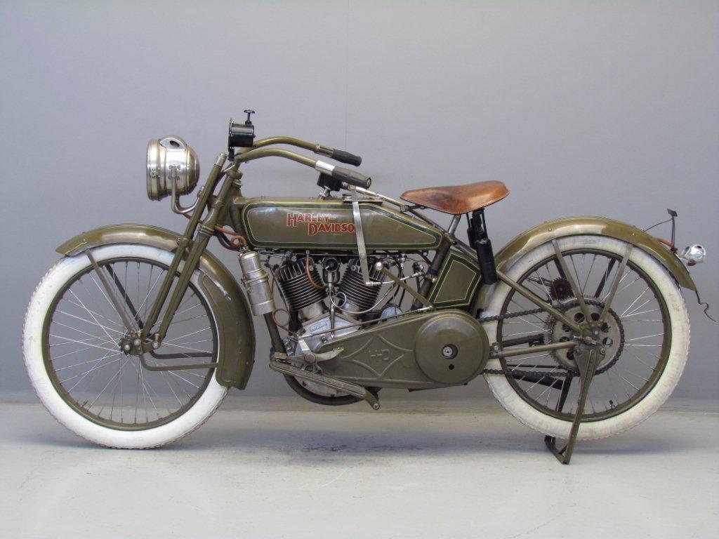 Harley-Davidson modelo 21J