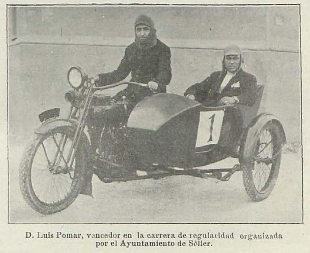 1921 - Harley-Davidson sidecar (Baleares, Spain)