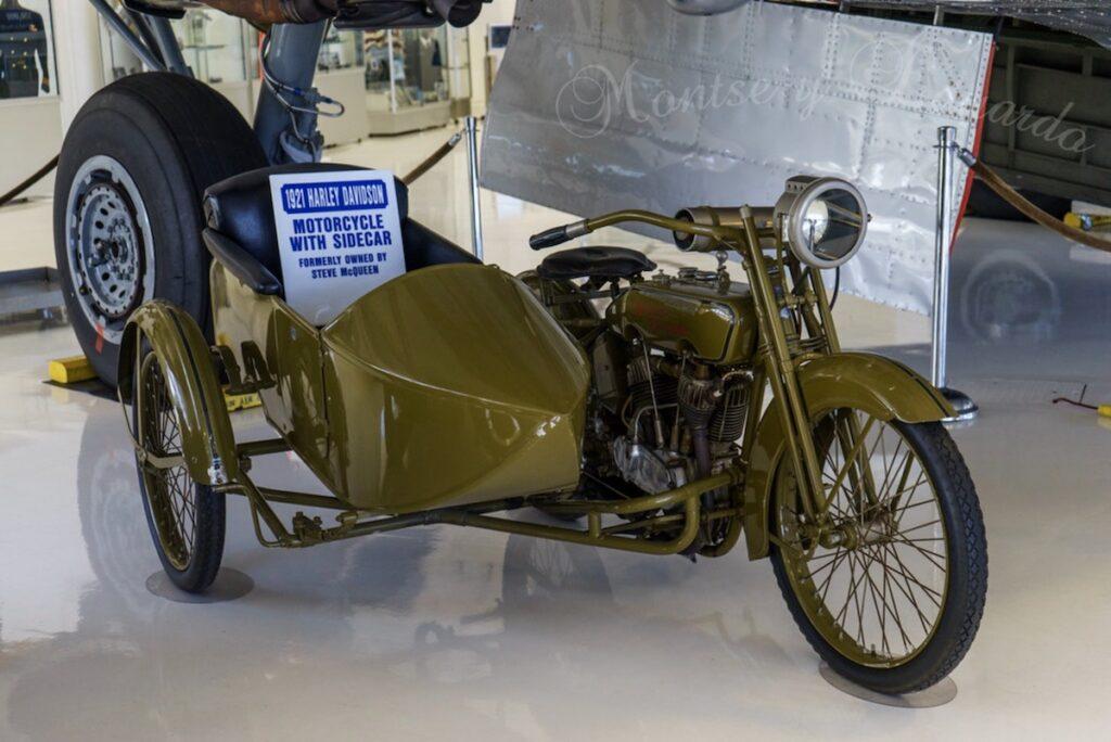 1921 - Harley-Davidson de Steve McQueen