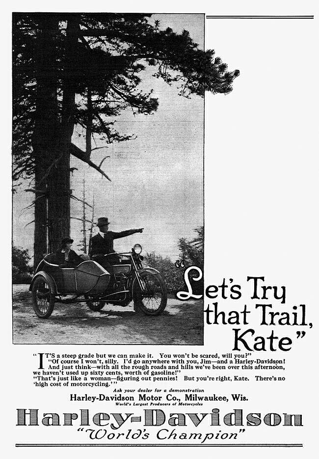 1921 - Harley-Davidson - Let's try