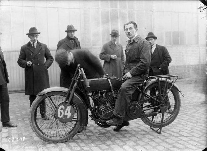 1921 - Harley-Davidson carrera Paris-Nice