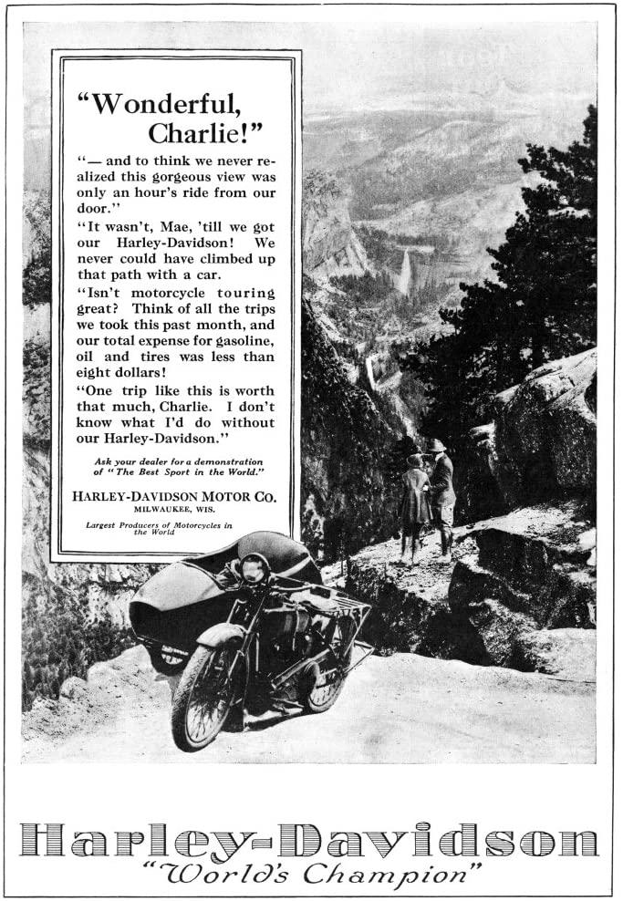 1921 - Harley-Davidson - Wonderful Charlie