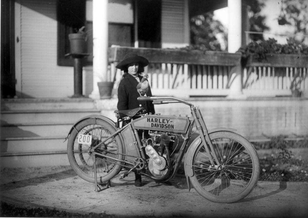 1912 - Harley-Davidson modelo 8A