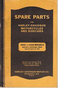 1922-1926 - Spare Parts